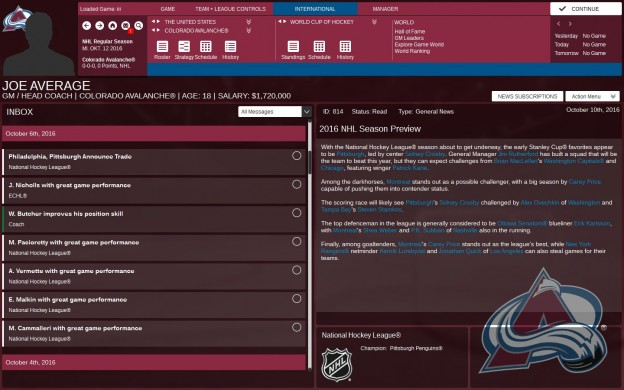 Franchise Hockey Manager 3 Screenshot #4 for PC