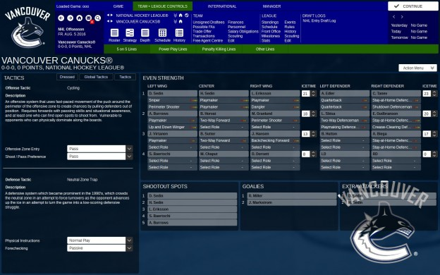 Franchise Hockey Manager 3 Screenshot #5 for PC