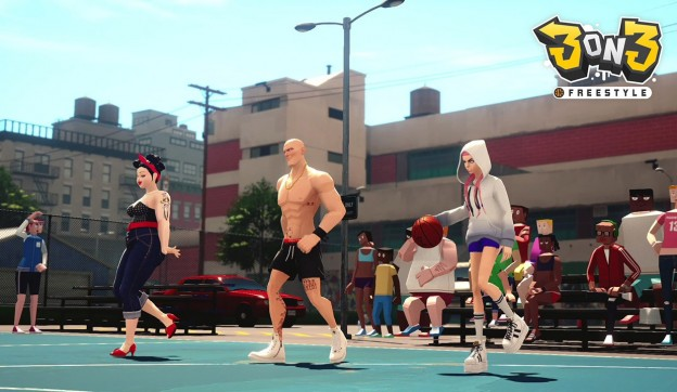 3on3 FreeStyle Screenshot #2 for PS4