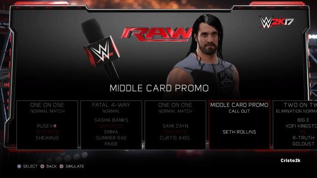 WWE 2K17 Screenshot #30 for PS4