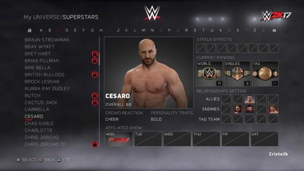 WWE 2K17 Screenshot #36 for PS4
