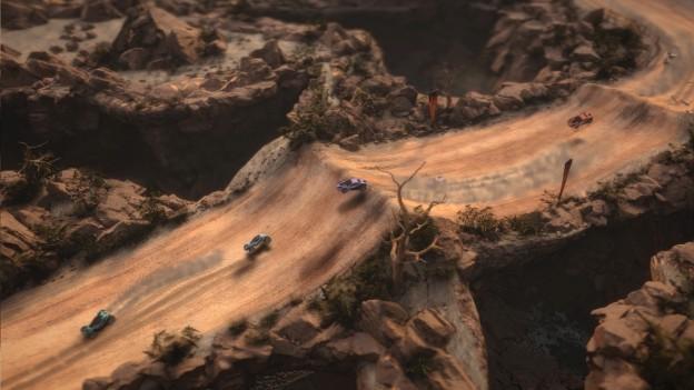 Mantis Burn Racing Screenshot #3 for PS4