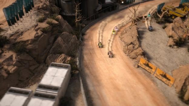 Mantis Burn Racing Screenshot #4 for PS4