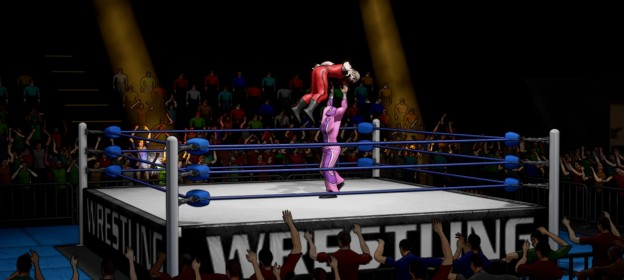CHIKARA: Action Arcade Wrestling Screenshot #3 for PC