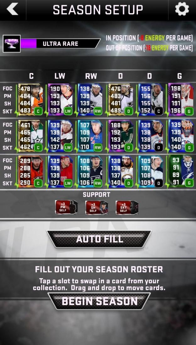 NHL SuperCard 2K17 Screenshot #9 for iOS