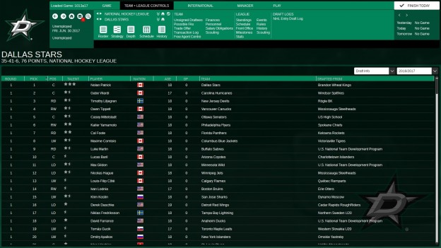Franchise Hockey Manager 3 Screenshot #7 for PC