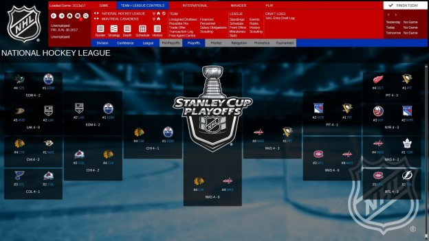 Franchise Hockey Manager 3 Screenshot #8 for PC
