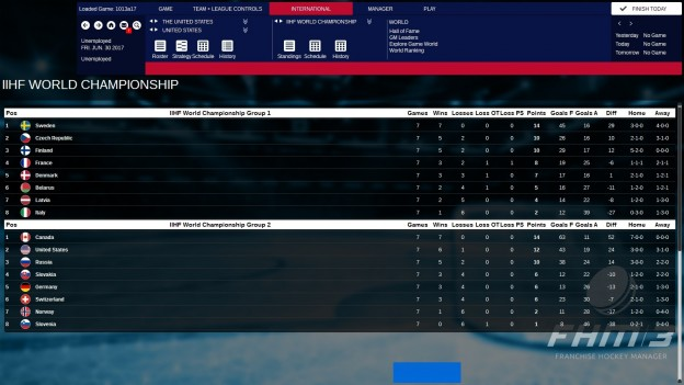 Franchise Hockey Manager 3 Screenshot #9 for PC