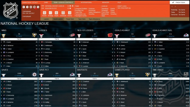 Franchise Hockey Manager 3 Screenshot #10 for PC