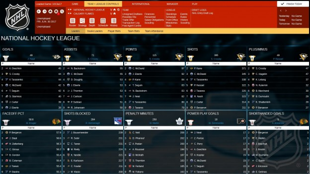 Franchise Hockey Manager 3 Screenshot #11 for PC