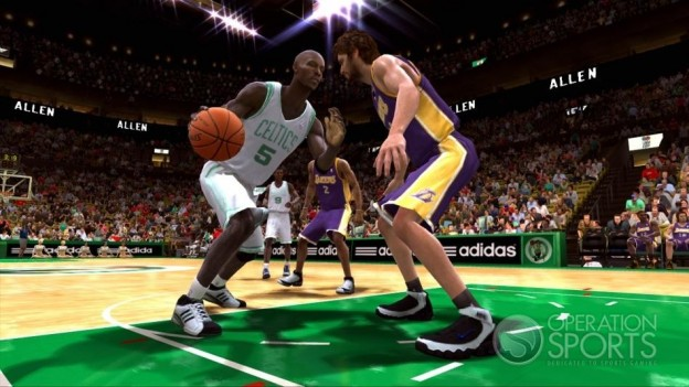 NBA Live 09 Screenshot #1 for Xbox 360
