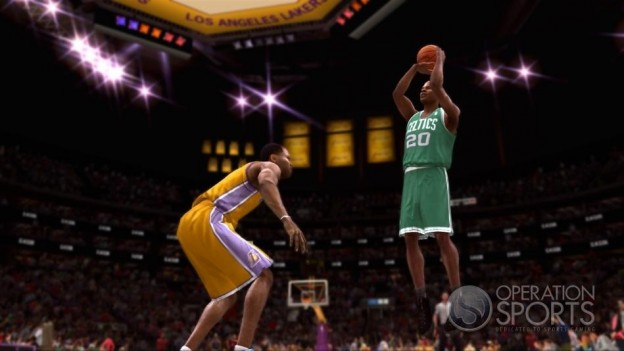 NBA Live 09 Screenshot #4 for Xbox 360