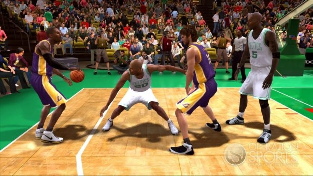 NBA Live 09 Screenshot #7 for Xbox 360
