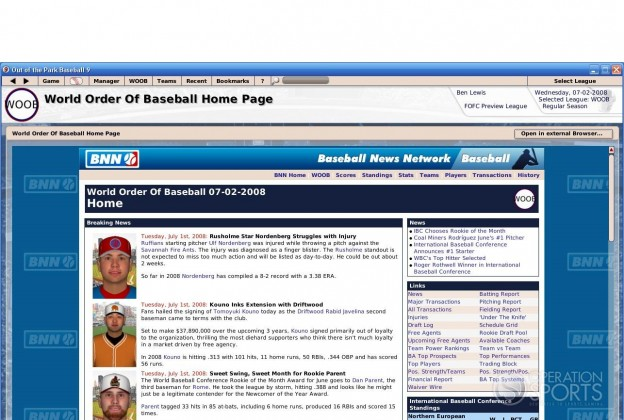 Out of the Park Baseball 9 Screenshot #5 for PC