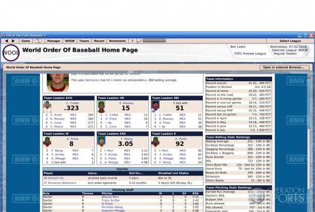 Out of the Park Baseball 9 Screenshot #7 for PC