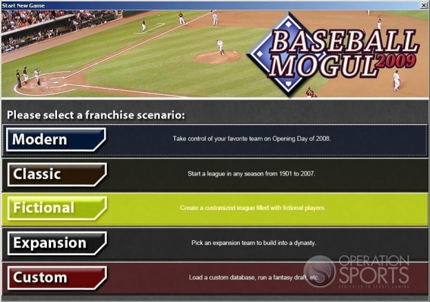 Baseball Mogul 2009 Screenshot #4 for PC
