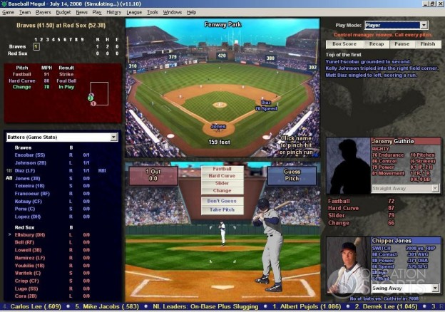 Baseball Mogul 2009 Screenshot #5 for PC