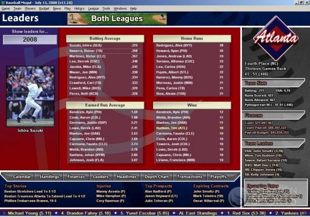 Baseball Mogul 2009 Screenshot #6 for PC