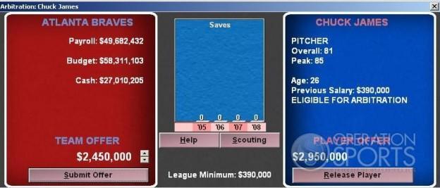 Baseball Mogul 2009 Screenshot #11 for PC