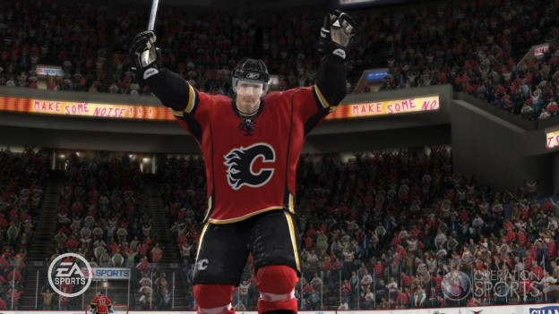NHL 09 Screenshot #1 for Xbox 360
