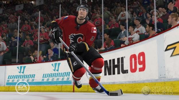 NHL 09 Screenshot #2 for Xbox 360