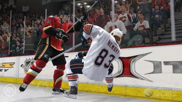 NHL 09 Screenshot #3 for Xbox 360
