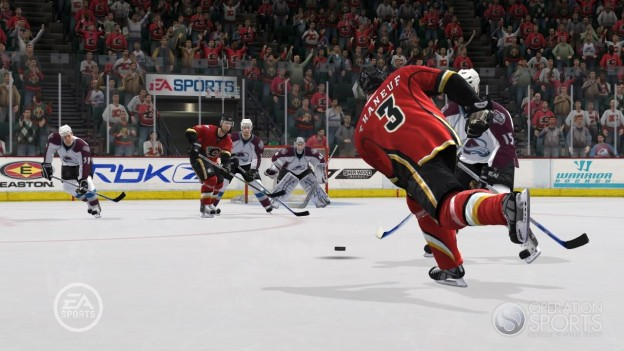 NHL 09 Screenshot #4 for Xbox 360