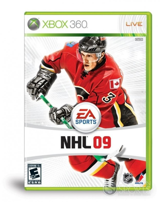 NHL 09 Screenshot #6 for Xbox 360