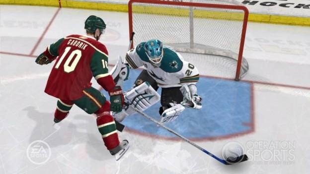 NHL 09 Screenshot #7 for Xbox 360