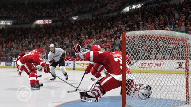 NHL 09 Screenshot #8 for Xbox 360