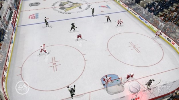 NHL 09 Screenshot #9 for Xbox 360