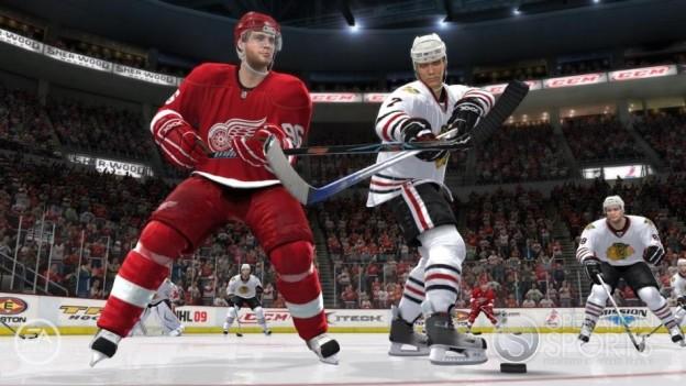 NHL 09 Screenshot #10 for Xbox 360