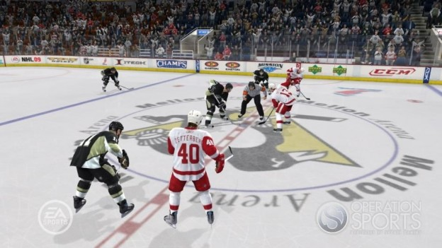 NHL 09 Screenshot #11 for Xbox 360