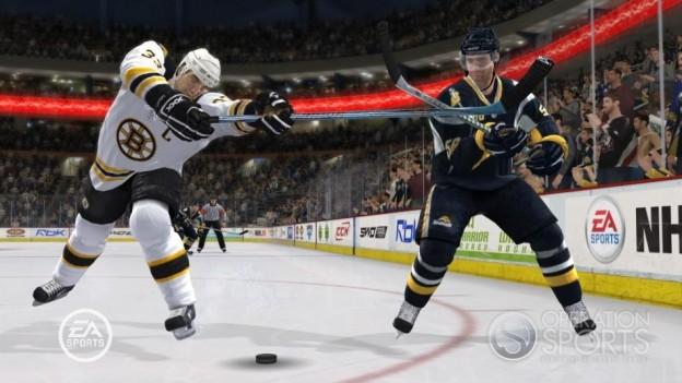 NHL 09 Screenshot #12 for Xbox 360