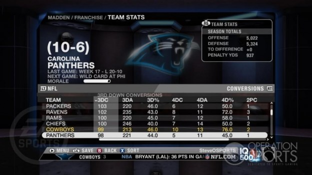 Madden NFL 09 Screenshot #62 for Xbox 360