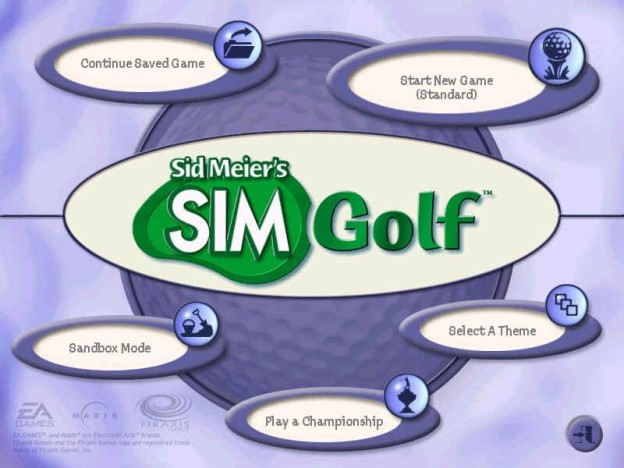 Sid Meier's SimGolf Screenshot #1 for PC