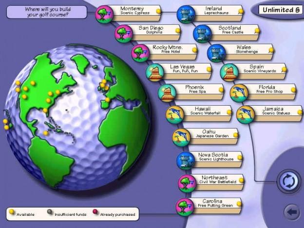 Sid Meier's SimGolf Screenshot #2 for PC