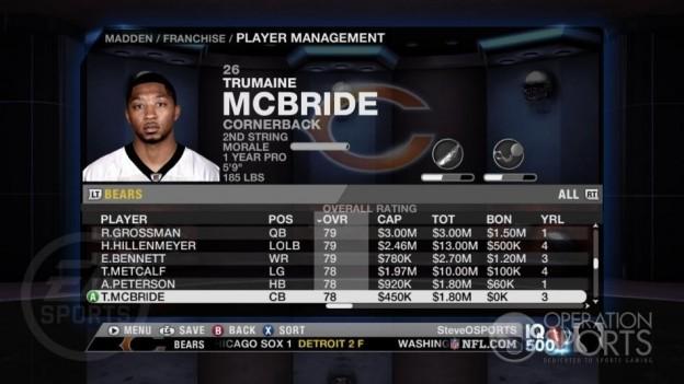 Madden NFL 09 Screenshot #95 for Xbox 360