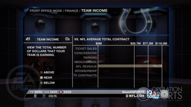 Madden NFL 09 Screenshot #125 for Xbox 360