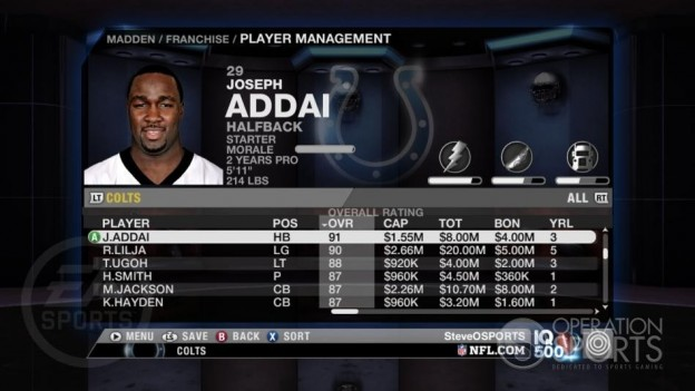 Madden NFL 09 Screenshot #136 for Xbox 360