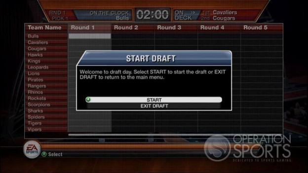 EA Sports Fantasy Football Screenshot #3 for Xbox 360