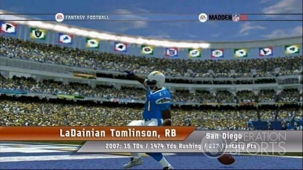 EA Sports Fantasy Football Screenshot #4 for Xbox 360