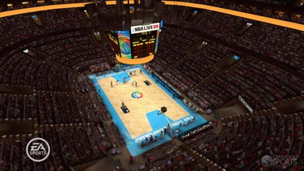 NBA Live 09 Screenshot #8 for Xbox 360