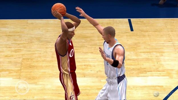 NBA Live 09 Screenshot #10 for Xbox 360