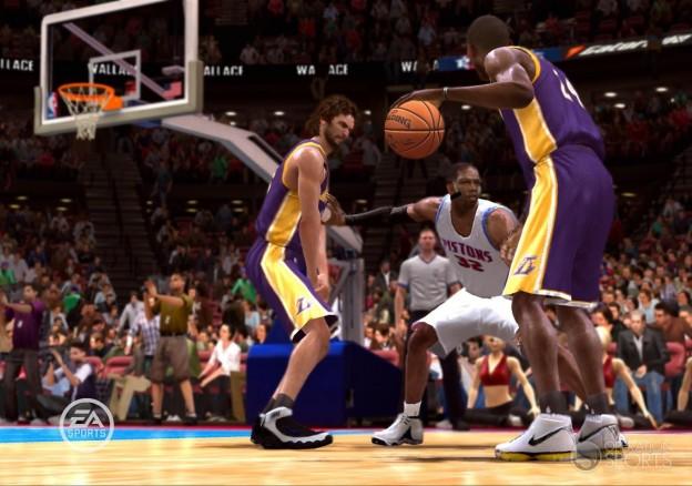 NBA Live 09 Screenshot #11 for Xbox 360