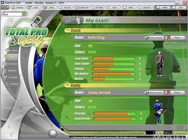 Total Pro Golf Screenshot #1 for PC