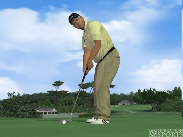 Tiger Woods PGA TOUR 07 Screenshot #1 for PS2