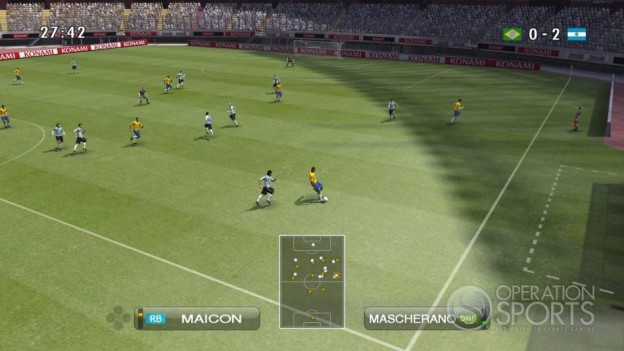 Pro Evolution Soccer 2009 Screenshot #1 for Xbox 360