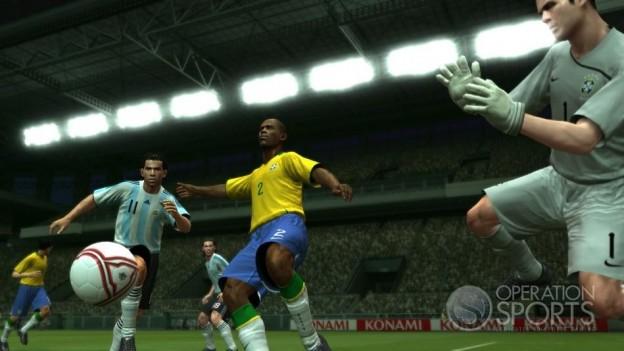 Pro Evolution Soccer 2009 Screenshot #3 for Xbox 360