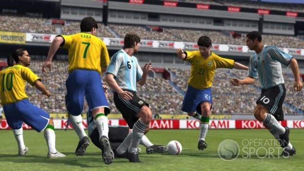 Pro Evolution Soccer 2009 Screenshot #4 for Xbox 360